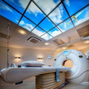 Klinik der Zukunft mit LED