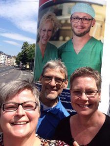 Selfies der Mitarbeiter © Frankfurter Rotkreuz-Kliniken