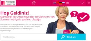 Interessierte können auf Englisch, Deutsch, Russisch und Türkisch Fragen stellen.