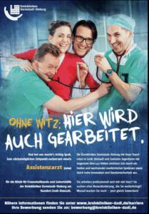 In der Kategorie BIG TALENTS, der besten Nachwuchsanzeige, gewannen die Kreiskliniken Darmstadt-Dieburg