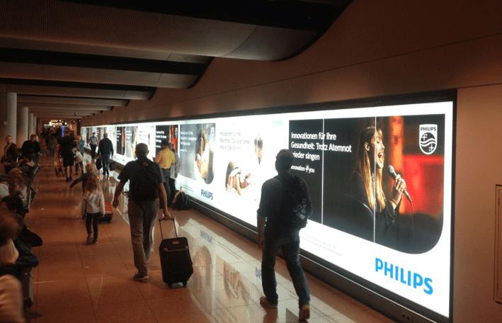Plakatkampagne von Philips