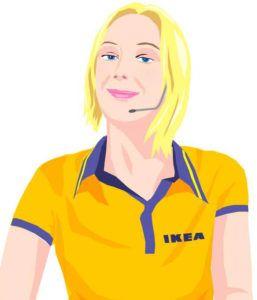 Einer der ersten Chatbots: Anna von IKEA