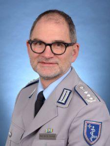 Spezialist für den Terroreinsatz: Prof. Friemert
