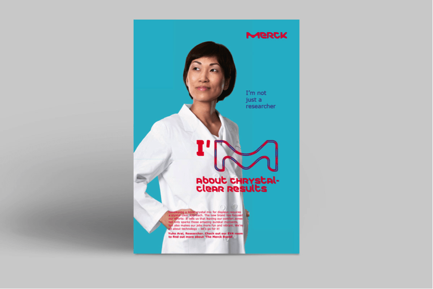 Employer Branding von Merck