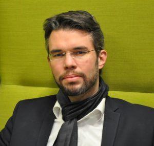Frank Sielaff ist verantwortlich für den Relaunch der Unternehmenswebseite von Merck.