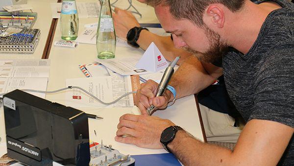 Workshop von Dr. Sven Görrissen auf dem Dental Summer 2017