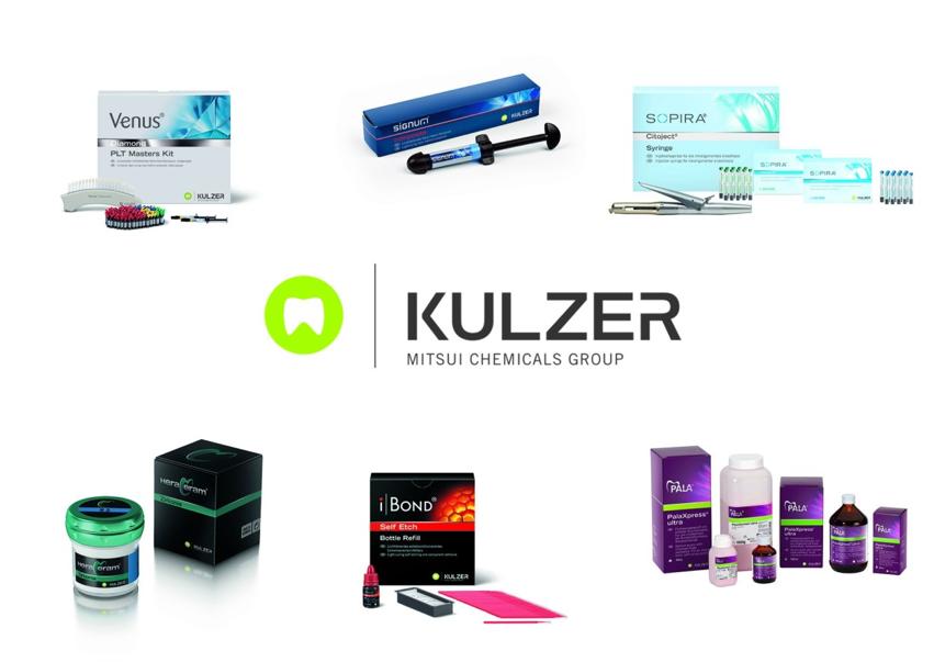 Ab dem 4. Juli haben sich die Produktverpackungen geändert – das neue Kulzer Logo ist zu sehen.