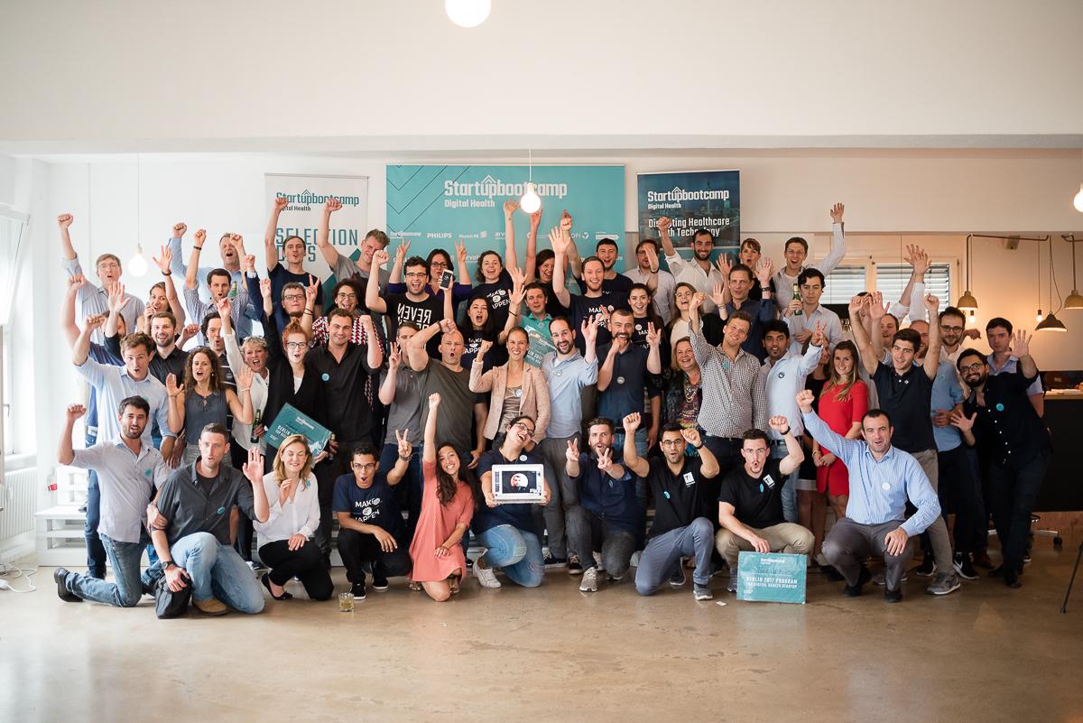Digital Health von morgen: Die Teilnehmer der Selection Days beim Startupbootcamp Berlin