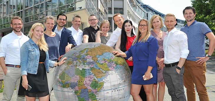 Das Projektteam des Deutschen Gesundheitspreis