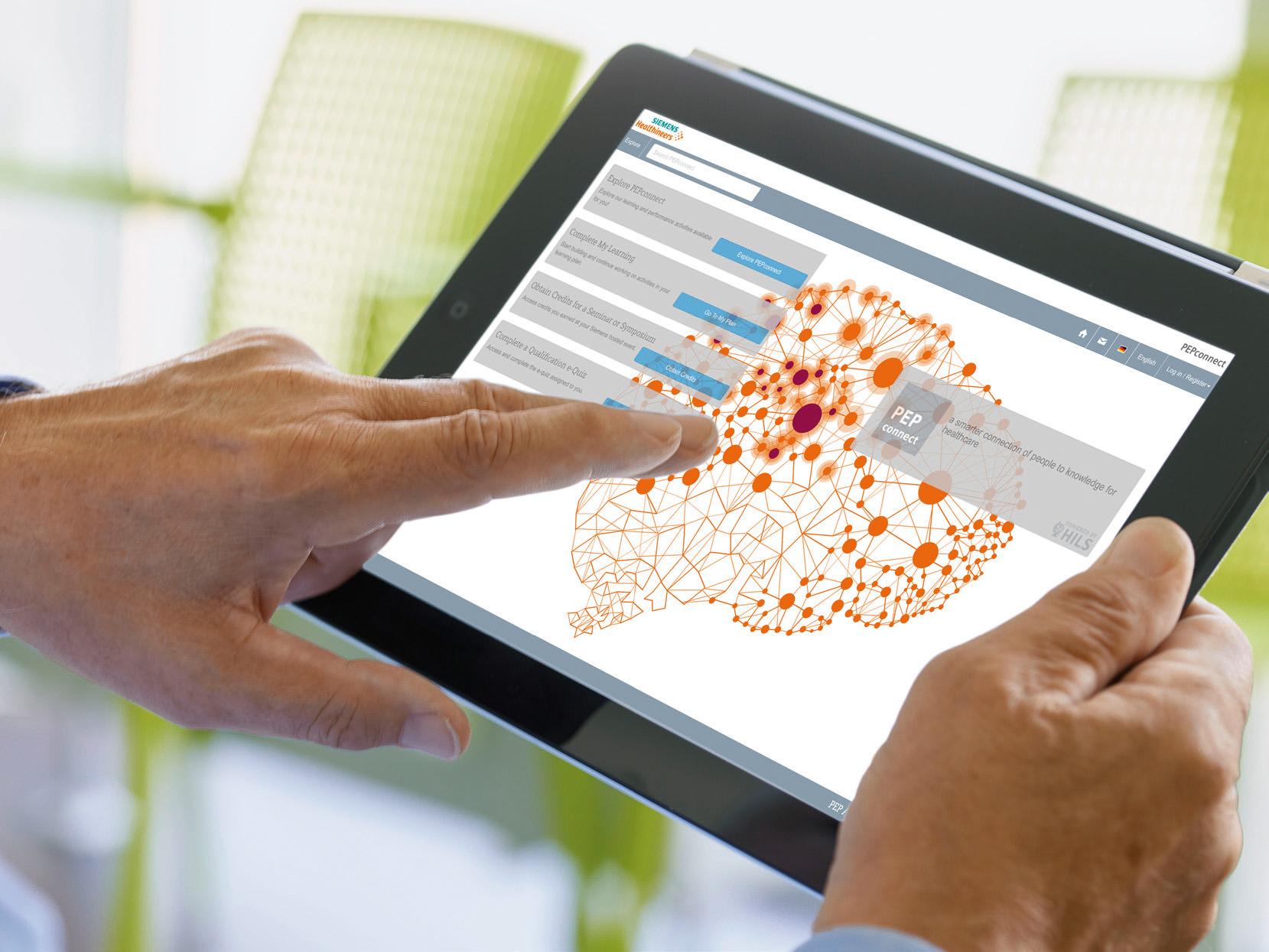 PEPconnect ist die eLearning-Plattform für Healthcare Professionals