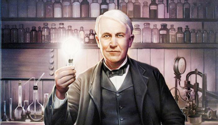 Thomas Edison erfand unsere Glühbirne. Was ihn vermutlich dabei beflügelt hat: Seit nächtlich Lieblingsgetränk Vin Mariani, eine Mischung aus Wein und Kokain