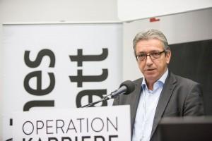 Michael Laschewski auf der Nachwuchsmesse Operation Karriere