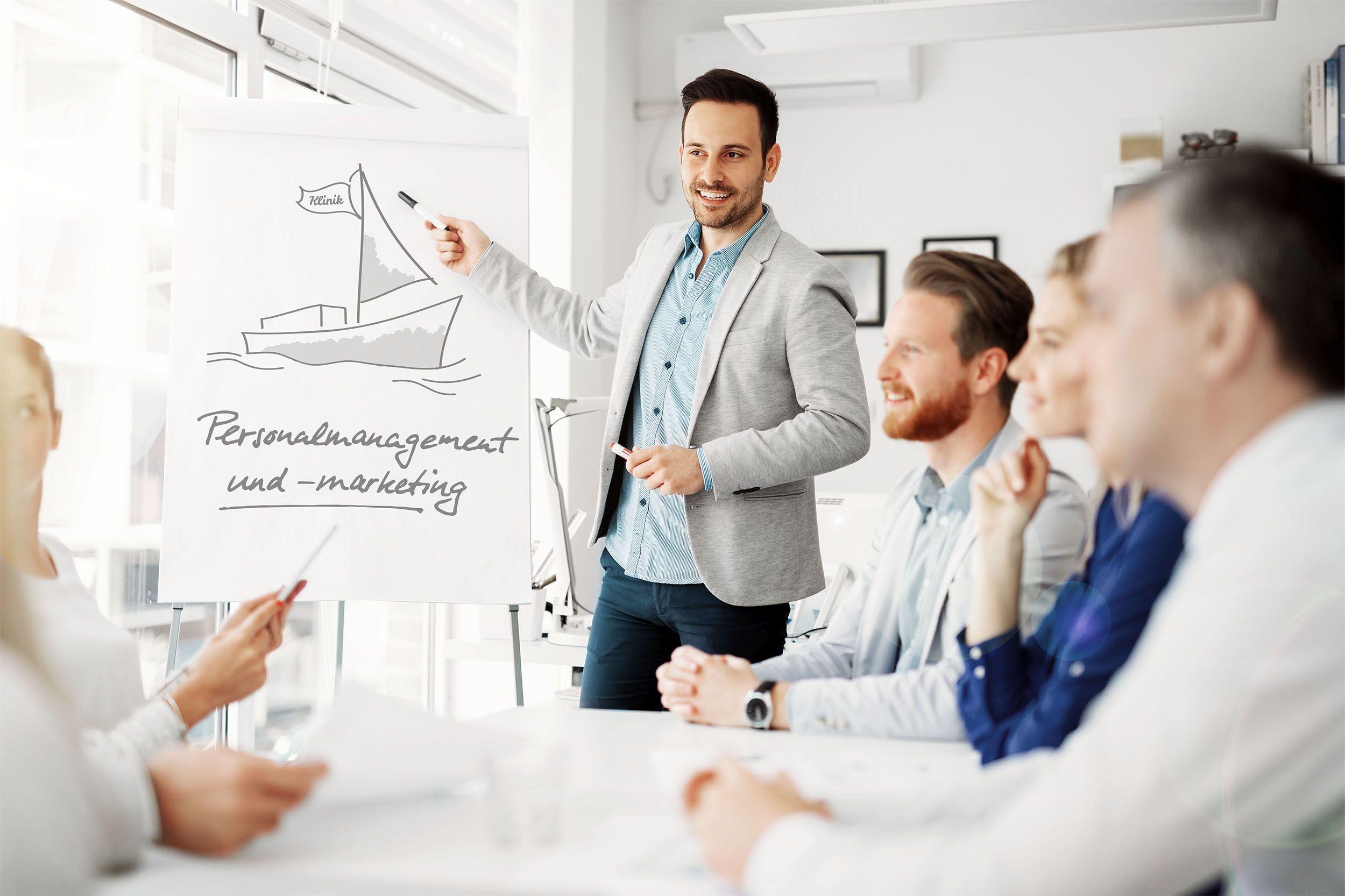 Die Workshops im Deutschen Ärzteverlag in Köln informieren rund um die Themen Employer Branding und Recruiting
