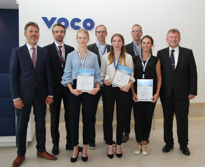 Die Gewinnerinnen der VOCO Dental Challenge 2017