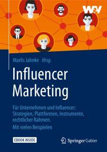 Marlis Jahnke hat ein Buch über Influencer Marketing geschrieben