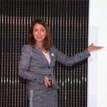 Prof. Dr. Nicole Arweiler beim Launch-Event von Oral-B
