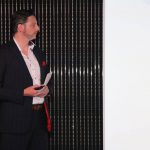 Daniel P. Grotzer beim Launch-Event von Oral-B