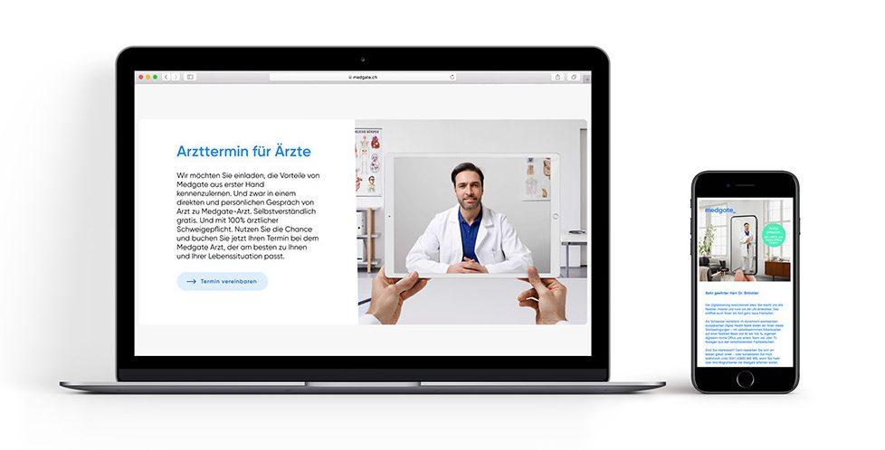 Recruiting für Medgate: Ärzte können mit Ärzten sprechen