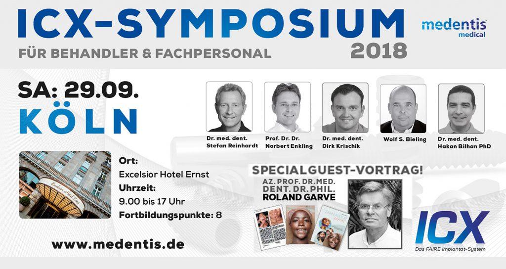 medentis veranstaltet Symposien zum Thema ICX.