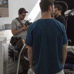 Der Rapper Marteria spielt im Werbefilm für eine Zahnarztpraxis mit.