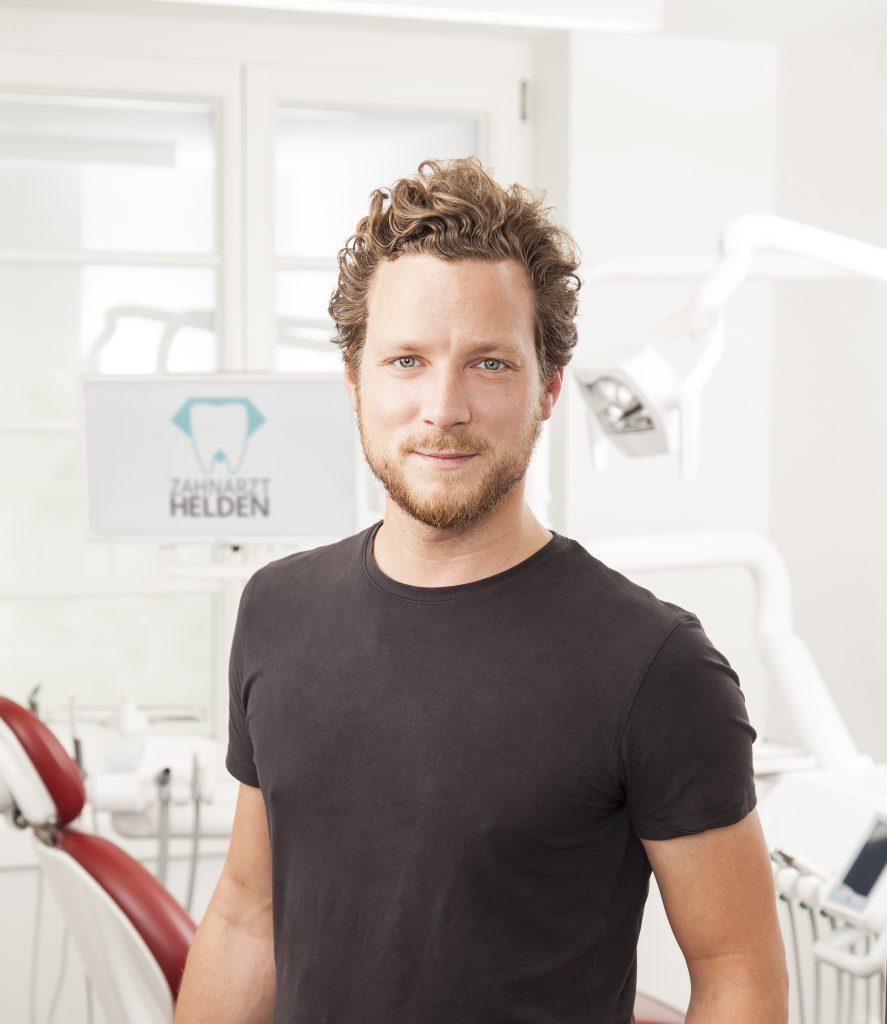 Carsten Janetzky ist Mitbegründer des Start-Ups Zahnarzt Helden
