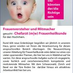 """""""Frauenversteher und Mitmacher"""", von: Klinikum Hochrhein"""