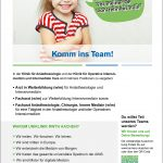 """""""Komm ins Team!"""", von: Uniklinik RWTH Aachen / Agentur: CN-COLOR"""
