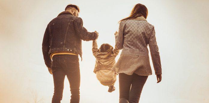Vater Mutter Kind