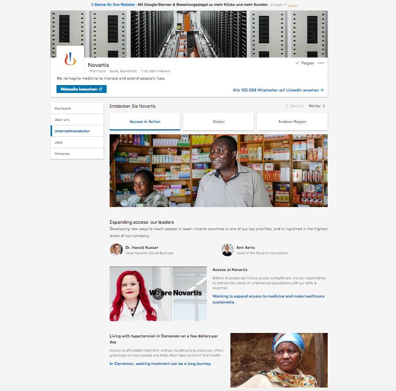 Linkedin Showcases sind einer der fünf Content Tipps für den perfekten Auftritt auf Linkedin.