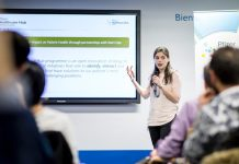 Ekaterina Alipiev ist die Leiterin des Pfizer Healthcare Hubs Berlin
