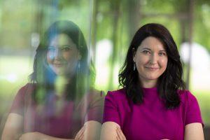 Expertin für Digital Health: Seit Februar 2017 leitet Saskia Steinacker den Bereich Digital Transformation bei Bayer. 2018 wurde Saskia Steinacker außerdem für die Expertengruppen der Europäischen Kommission zum Thema Künstliche Intelligenz nominiert.