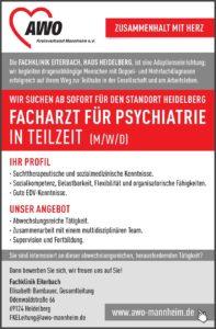 Klinik Eiterbach sucht Facharzt in Teilzeit
