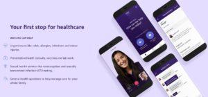 """""""Amazon Care"""" - eine App für die Mitarbeiter in Seattle. © Screenshot"""