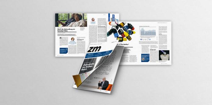 Mit Ausgabe 1 in 2020 flattert die zm - Zahnärztliche Mitteilungen erstmals in neuer Gestalt in die Zahnarztpraxen und Wohnungen der Zahnärzteschaft.