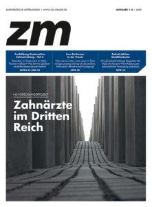 Die neu gestaltete zm-Titelseite der ersten Ausgabe in 2020.