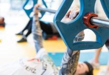 Sport: Mitarbeiter des Helios Klinikums Leipzig trainieren im klinikeigenen Fitness-Studio Foto