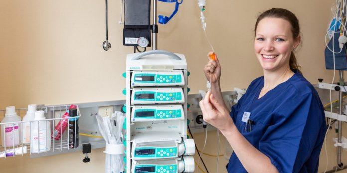 Klimamanagerin Laura-Marie Struetzke vom Evangelischen Krankenhaus Hubertus.