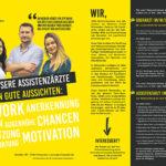 """""""Unsere Assistenzärzte haben gute Aussichten"""", von: ZfP Klinikum Schloß Winnenden/Agentur: KerlerKommunikation"""