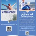 """""""Mittagspause – Leben und Arbeiten auf Amrum."""", von: Fachklinik Satteldüne/Agentur: ott designt!"""
