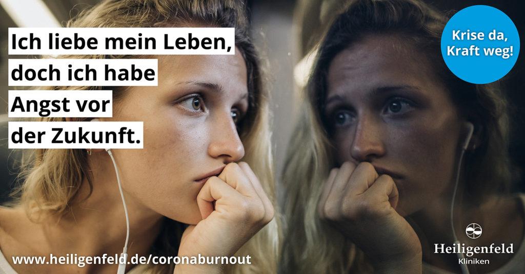 Corona-Burnout_Kampagne_junge Erwachsene