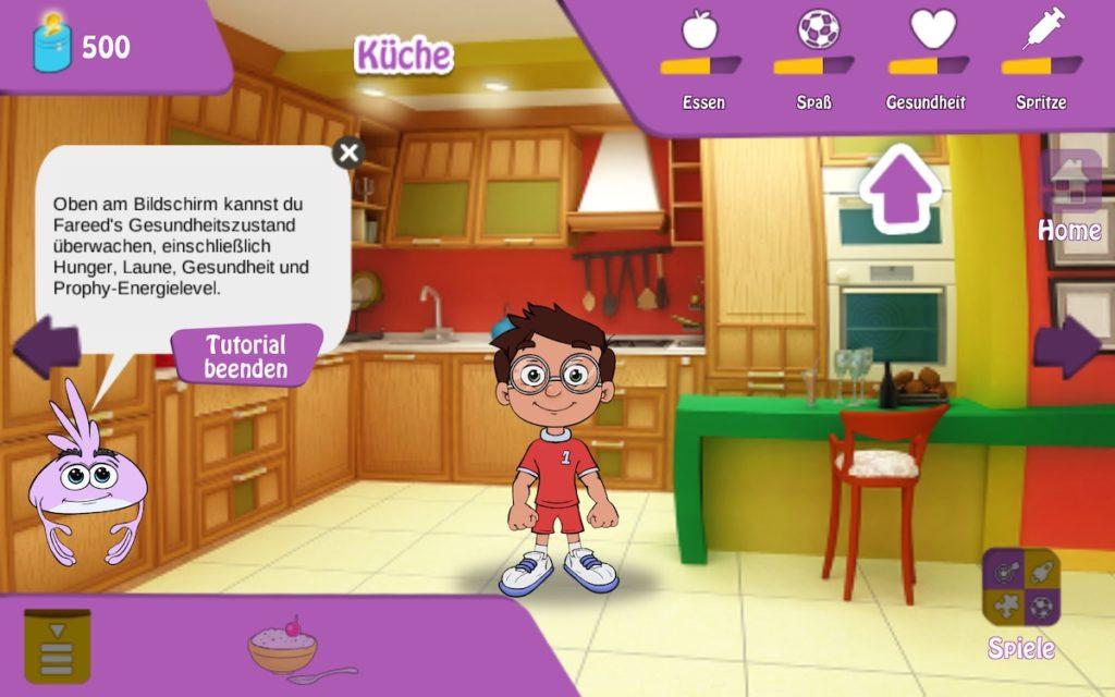 Serious Games für Kinder Hemo Heroes von Pfizer