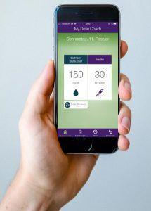 """Die DiGA """"My Dose Coach®"""" soll Diabetes-Typ-2-Erkrankten die Insulinanpassung erleichtern. © Sanofi"""
